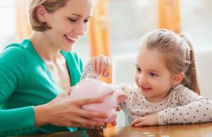 Mengajar anak menabung