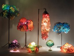 Lamp Made from Recycling Material